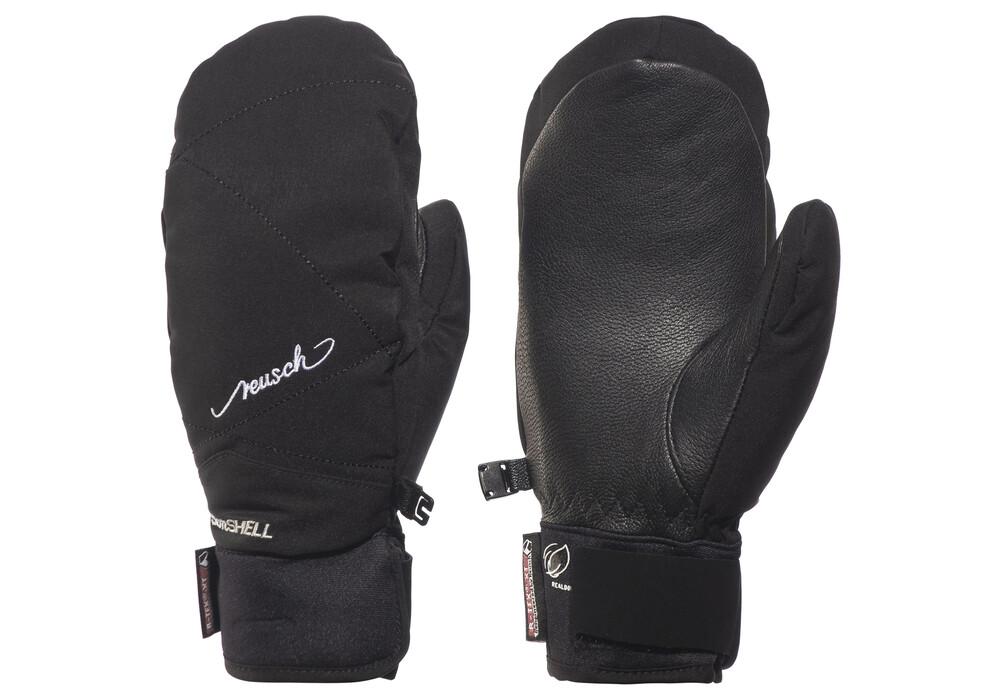 sort læder handsker dame gratis SEZ